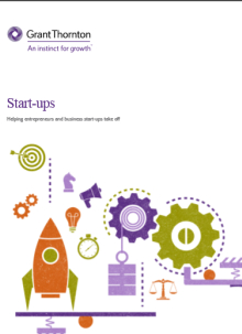 The start-ups brochure frontpage
